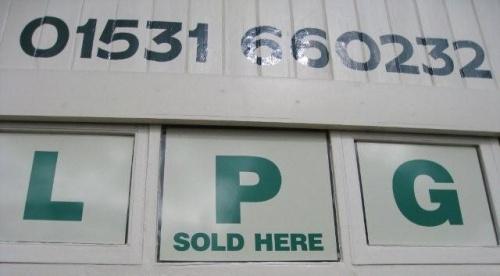 LPG sold