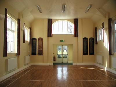 Memorial Hall - main hall