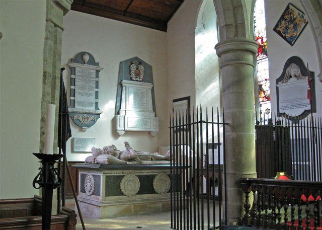Kyrle Chapel, St Bartholomew's Church