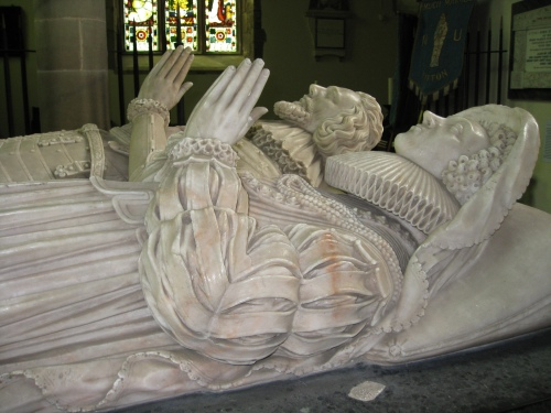 Sir John Kyrle and his wife Sybille Scudamore