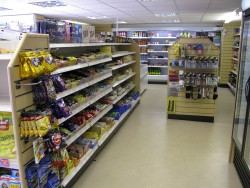 The well stocked shop