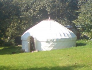 Orchard Yurt, Putley