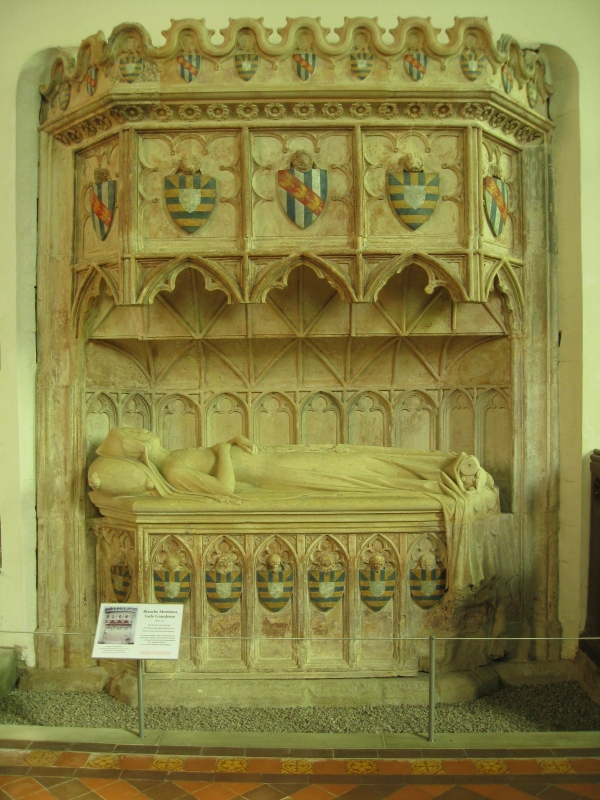 The tomb after completion of the conservation work